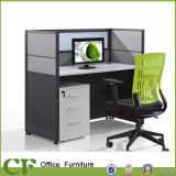 Modular 1 Person Workstation Tables with Drawer Cabinet