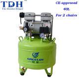CE Certicated Noiseless 40L Dental Air Compressor (TDH-81)