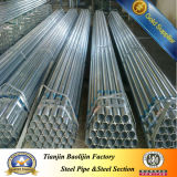 S235jr Hot Dipped Galvanized Steel Pipe