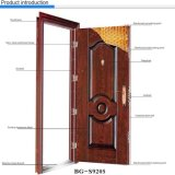 Bg-S9019 Exterior Metal Steel Security Door