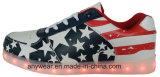 LED Light Sports Shoes Skaterboard Footwear Sneakers (816-5980)