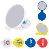 Round Pocket Mirrors with Logo Printing (PM201)