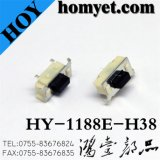 High Quality Tact Switch with 7*3.5*3.8mm 4 Pin Sidepush Registration Mast (HY-1188E-H38)