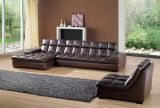 Living Room Genuine Leather Sofa (3935)