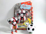 Transforming Action Figure Soccer Robot Toys