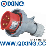 3 Phase Male Connector with IEC Standard (QX-288)
