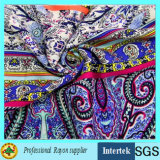 100 Rayon Printed Fabric for Women Dress Clothing