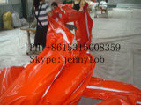 Oil Spill Inflatable Rubber Oil Containment Boom, PVC Oil Boom
