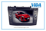 Two Double DIN Car DVD Player for New Mazda 3