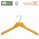 Flat Wooden Top Hanger for Coat (MC068)