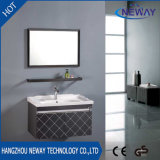 Wall Mounted Steel Knock Down Bathroom Vanity Cabinet
