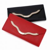 Lady′s Red Purse High Quality Woman Wallet (RS-131233)