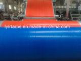 China PE Tarp Factory, Plastic Blue/Orange Tarpaulin Cover, Polyethylene Tarpaulin Truck Cover