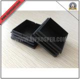 Black PE Square Tube Caps (YZF-C111)