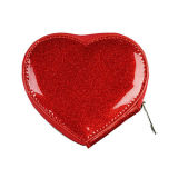 OEM Design Heart-Shape Coin Purse
