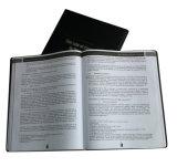 High Quality Black PU Leather Cover Book (YY-B0308)