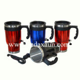High Quality Stainless Steel Electric Auto Mug with Handle Dn-041A