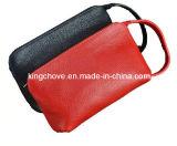 Fashion Lichi Red PU Cosmetic Bag (KCC01)
