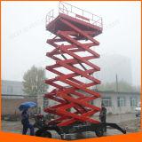 16m Hydraulic Electric Scissor Man Lift Platform for Building Maintenance with Ce