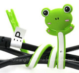 Frog Rubber Silicone Cable Winder