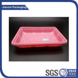 Customize Pink Plastic Food Tray