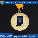 2017 Hot Sale Custom Metal Gold Medal Medallion