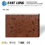 Brown Color 3200*1600mm Big Quartz Slabs Export