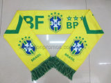 Beer Promotion World Cup Footbal Game Fans Bravo Acrylic Scarf