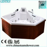 Freestanding Whirlpool Outdoor SPA Bath Tub (EW2005B)