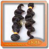 Natural Black Double Weft in 3A Indian Hair Extension