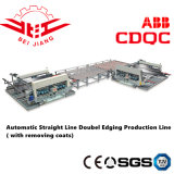 Glass Machine Double Edging Production Line (with removing coats)