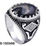 Fashion Jewelry Factory Wholesale 925 Silver Men Rings.