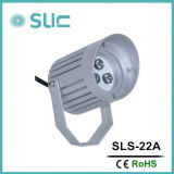 9W LED Spot Light with Black or Silver Color