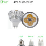 4*1W LED Spot Light GU10 COB Spot Lighting