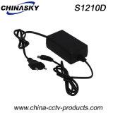 12VDC 1A Desktop Power Adapter for CCTV System (S1210D)