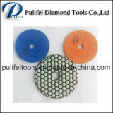 Resin Bond Dry Wet Flexible Granite Marble Stone Polishing Pad