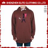 Custom Design Polyester Fleece Screen Printing Hoodie Sweatshirt (ELTHSJ-959)