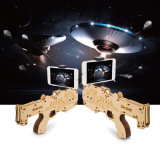 New Design Bluetooth Shooting Game 3D Wood Toy Ar Gun