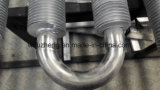 Aluminum Fin Tube Bundle with U Bends for Water Air Heat Exchanger