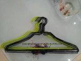China PVC/Pet Coated Chromed Wire Hanger