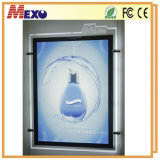 Acrylic Advertising LED Slim Light Box with Magnetic Open