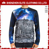 Custom Printing Hip Hop Long T Shirt Manufacturer China (ELTMTJ-148)