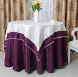 New Table Cloth in Round Shape for Hotel Restaurant (DPF107108)
