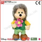 Kids Toy Stuffed Animal Plush Soft Standing Hedgehog Doll for Children
