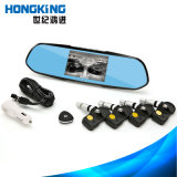 Car DVR Camera Tire Monitor System with 4 Internal Tyre Sensors