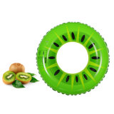 Fruit Artwork PVC or TPU Inflatable Lemon Swimming Ring