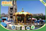 New Patent Royal Crown Carousel Amusement Park Outdoor Kids Carousel