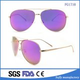 Trendy Retro Polarized Metal Fashion Colorful Promotion Sunglasses for Outdoor