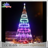 2017 Outdoor Green Color Large LED Rope Light Tree