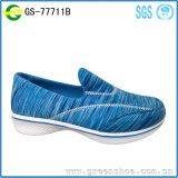 Latest Design Popular Ladies Footwear Slip on Casual Shoes Women